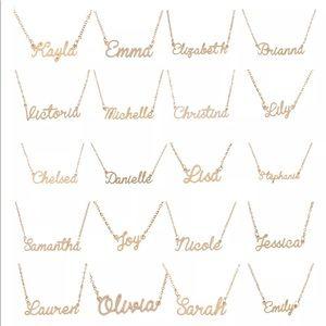 Jewelry - Fashion Customized Nameplate Necklace